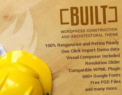 Built - Wordpress Construction Theme