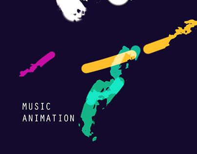 Abstract Visual Music Animation