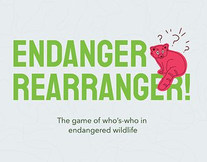 Endanger Rearranger // Children's Card Game