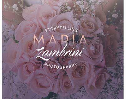 Maria Zambrini Branding