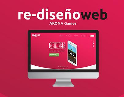 AKONAGAMES Web Page