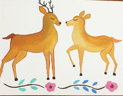 Deers.