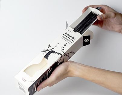 Kraken (octopus) - Logo / poster / packaging design