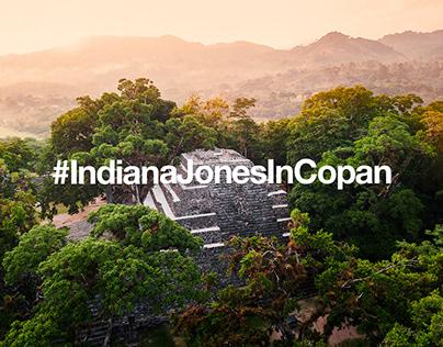 #IndianaJonesInCopan