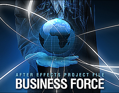 Business Force - After Effects Video Template