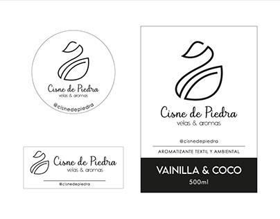 CISNE DE PIEDRA | Etiquetas + Logotipo