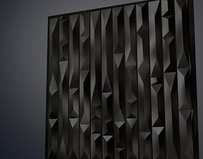 'Prism' parametric wall / Стеновая панель