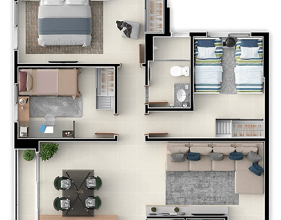 WHY COMPRISES A FLOOR PLAN?