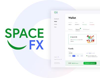 Space FX - UI/UX