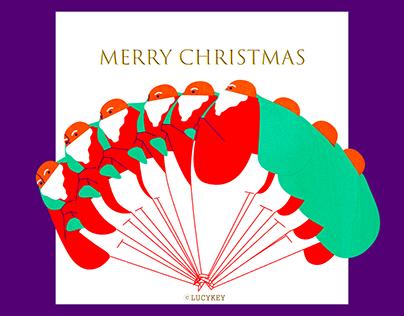 Santa animation + artwork