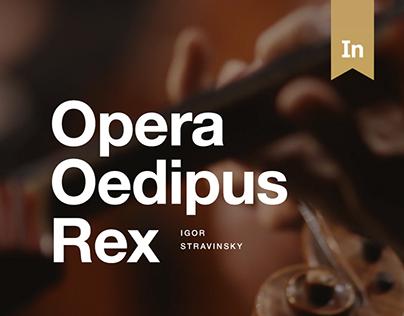 Opera Oedipus Rex