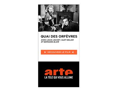 Arte Banner - Quai des Orfèvres