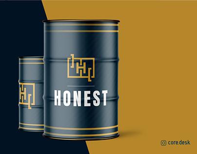 """HONEST"" CREATIVE LOGO PRESENTATION - CORE DESK"