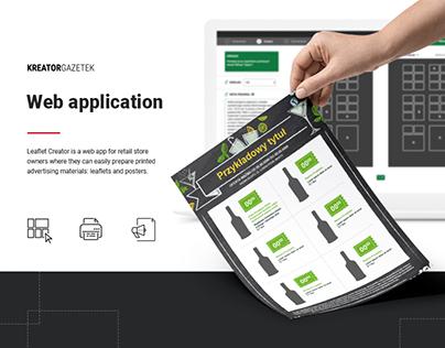 Leaflet Creator- web app