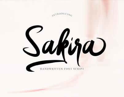 Sakira Script_Fonts Brush