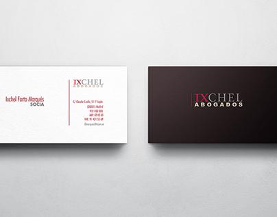 Diferentes diseños de tarjetas de visitas de un cliente