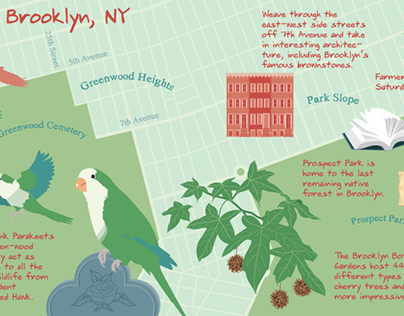 Maps of Brooklyn, New York