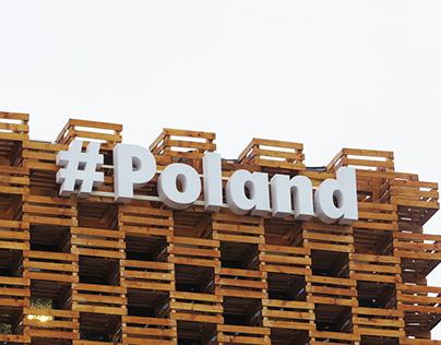 Logo for Polish Pavilion at EXPO 2015