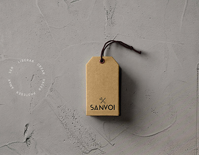 Sanvoi Ropa de oficios | Branding