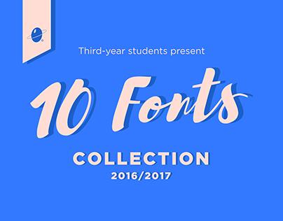 Font Collection - Scuola Internazionale di Comics