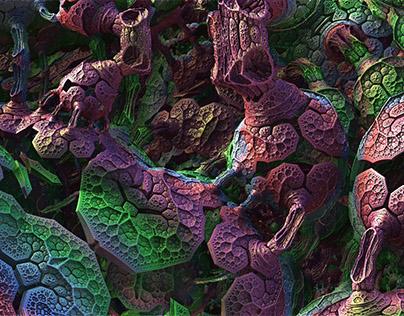 We Live Inside of this Machine - Fractal Art