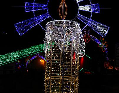 Photography / Fotografía de iluminaciónes navideñas