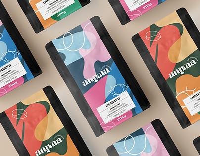 Anyma Café   Visual Brand & Package