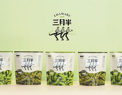 EDAMARU 三月半毛豆| Branding & Packaging