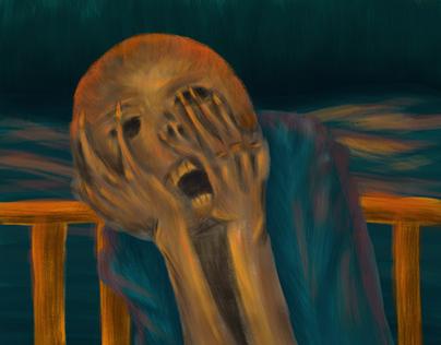 The Scream 5th version