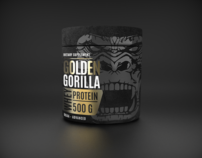 Label design for whey protein