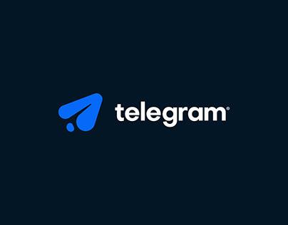 Telegram Branding Concept
