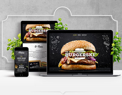Mr.Burgerski Identity & Website