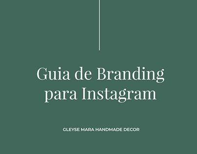 Guia de Branding Insta | Gleyse Mara