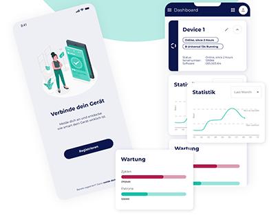 Dashboard Mobile Service Monitoring