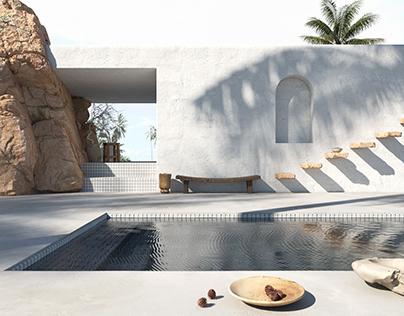 Minimal Swimming Pool l Studio M6