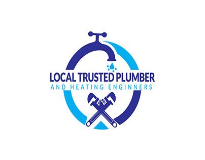 plumber and heating logo