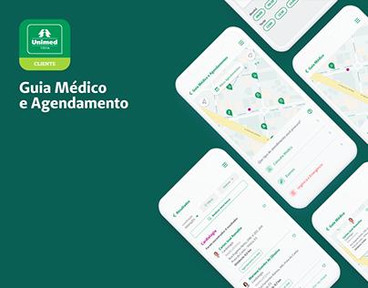 Unimed Cliente App - Guia Médico e Agendamentos
