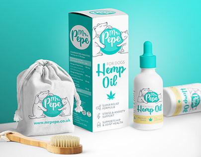 Упаковка бренда домашних животных Mr. PePe
