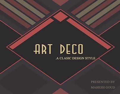 ART DECO DESIGN STYLE