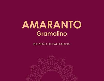 REDISEÑO DE PACKAGING AMARANTO
