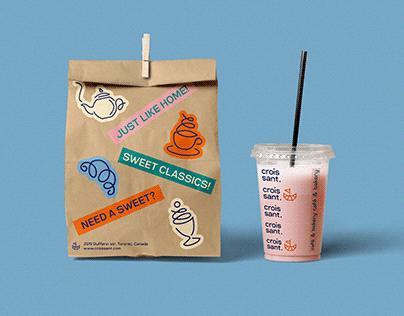 Croissant Café & Bakery / Branding