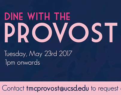 Dine with Provost