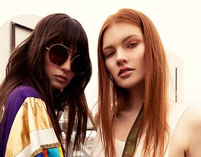Tanja Tremel: Berlin Rooftop Fashionshooting