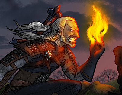 The Witcher 3: Hearts of Stone Illustration