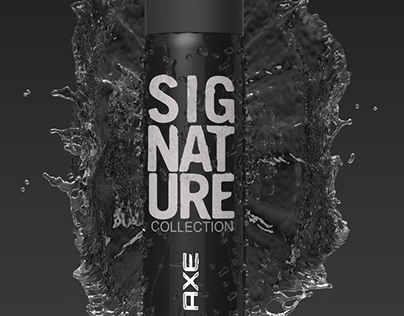 AXE signature splash