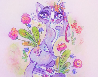 Lila in Bloom