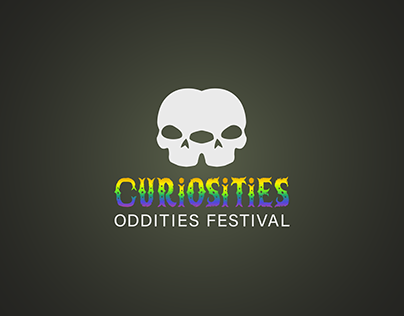 Branding for Curiosities Oddities Festival
