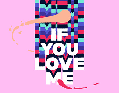 ANIMATED LYRIC VIDEO - IF YOU LOVE ME - K-ICM