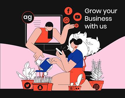 illustration : Business Growth