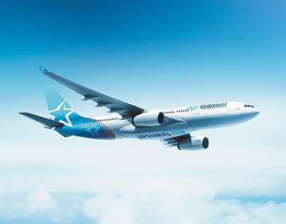 Air Transat New Livery Design